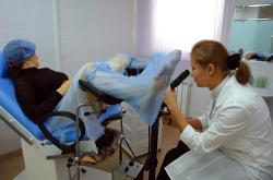 прием у гинеколога фото серия